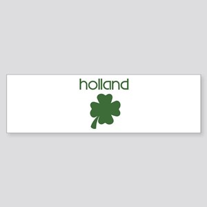 Holland shamrock Bumper Sticker