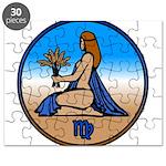 Virgo Zodiac Astrological Art Puzzle