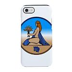 Virgo Zodiac Astrological Art iPhone 8/7 Tough Cas