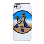 Virgo Zodiac Astrological Art iPhone 8/7 Tough Cas