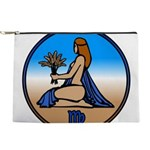 Virgo Zodiac Astrological Art Makeup Bag