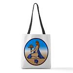 Virgo Zodiac Astrological Art Polyester Tote Bag