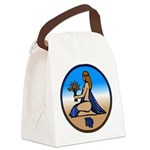 Virgo Zodiac Astrological Art Canvas Lunch Bag