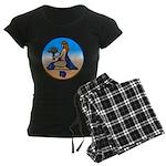 Virgo Zodiac Astrological Art Pajamas