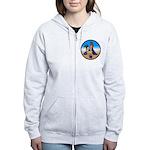 Virgo Zodiac Astrological Art Sweatshirt