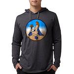 Virgo Zodiac Astrological Art Long Sleeve T-Shirt