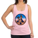 Virgo Zodiac Astrological Art Tank Top