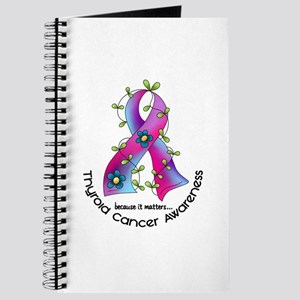 Flower Ribbon THYROID CANCER Journal