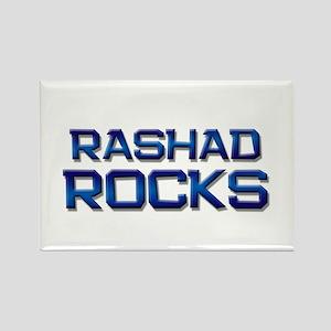 rashad rocks Rectangle Magnet