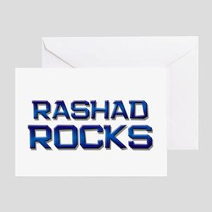 rashad rocks Greeting Card