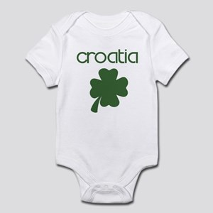 Croatia shamrock Infant Bodysuit