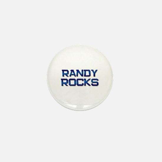 randy rocks Mini Button