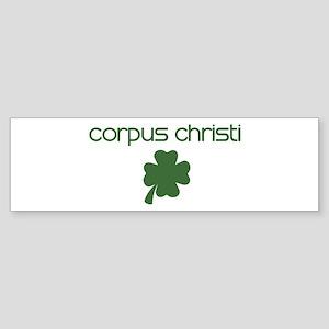 Corpus Christi shamrock Bumper Sticker
