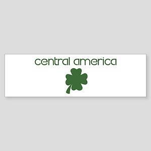 Central America shamrock Bumper Sticker