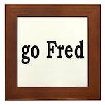 go Fred Framed Tile