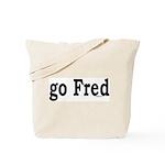 go Fred Tote Bag