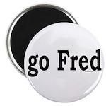 "go Fred 2.25"" Magnet (100 pack)"