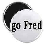 "go Fred 2.25"" Magnet (10 pack)"