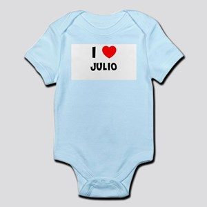 I LOVE JULIO Infant Creeper