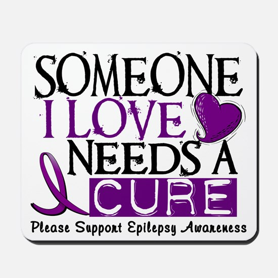 Needs A Cure EPILEPSY Mousepad