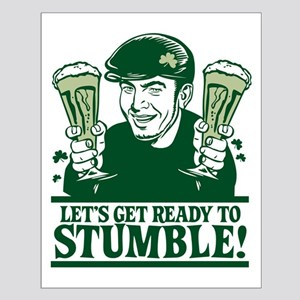 Ready To Stumble! Small Poster