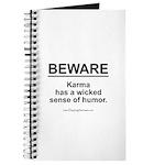 Wicked Sense of Humor... Journal
