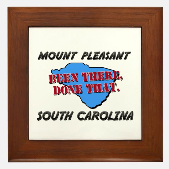 mount pleasant south carolina - been there, done t
