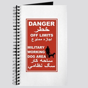 Danger Off Limits, Afghanistan Journal