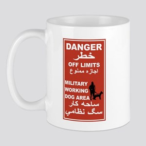 Danger Off Limits, Afghanistan Mug