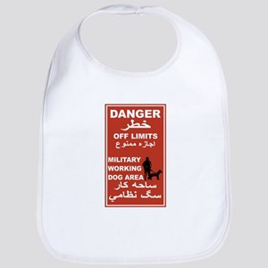 Danger Off Limits, Afghanistan Bib