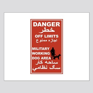 Danger Off Limits, Afghanistan Small Poster