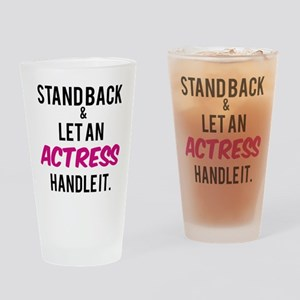 Actress Drinking Glass