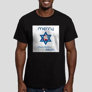 Christ()mukkah Men's Fitted T-Shirt (dark)