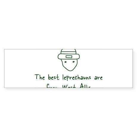West Allis leprechauns Bumper Sticker