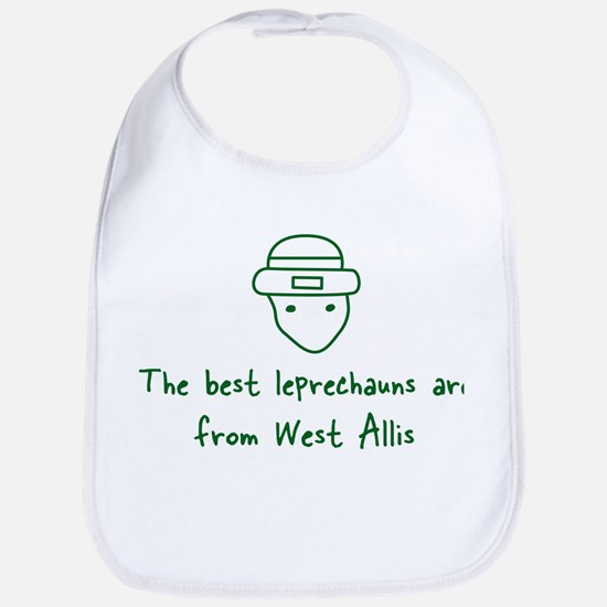 West Allis leprechauns Bib