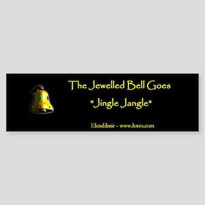 Jewelled Bell Sticker (Bumper)