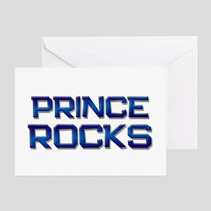 prince rocks Greeting Card