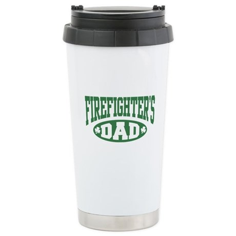 Irish Firefighter's Dad Stainless Steel Travel Mug