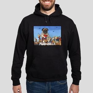 Pug-zilla Hoodie (dark)