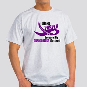 I Wear Purple (Grandfather) 33 PC Light T-Shirt