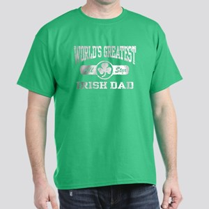 World's Greatest Irish Dad Dark T-Shirt