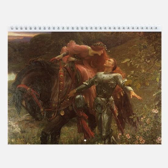 Victorian Artist Wall Calendar