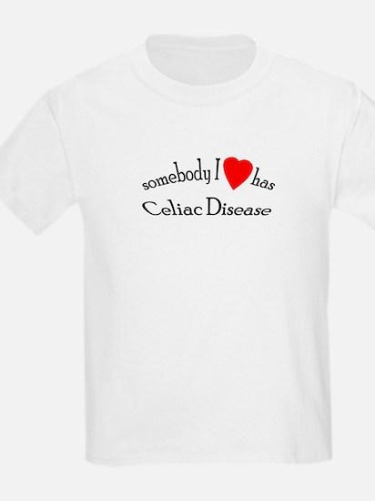 somebody I heart Celiac Dise T-Shirt