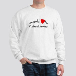 somebody I heart Celiac Dise Sweatshirt