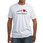 somebody I heart Celiac Dise Fitted T-Shirt