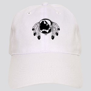 Metis Spirit Buffalo Native Art Cap