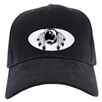Metis Spirit Buffalo Native A Black Cap with Patch