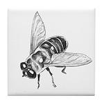 Honey Bee Art Tile Coaster