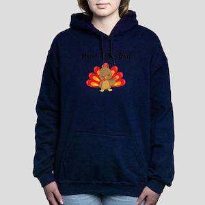 Happy Turkey Thanksgiving Cute Fall Aut Sweatshirt