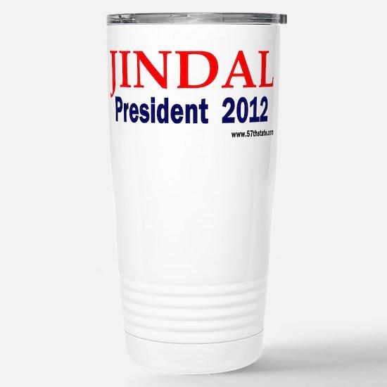 Jindal 2012 Stainless Steel Travel Mug
